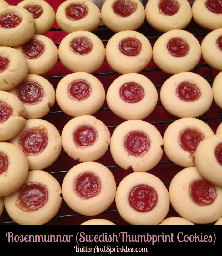 Cherry Almond Rosenmunnar   Butter and Sprinkles