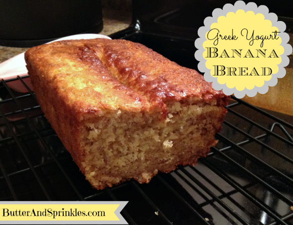 Greek Yogurt Banana Bread | Butter And Sprinkles