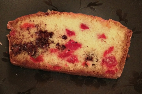Cherry Chocolate Chip Bread | ButterAndSprinkles.com