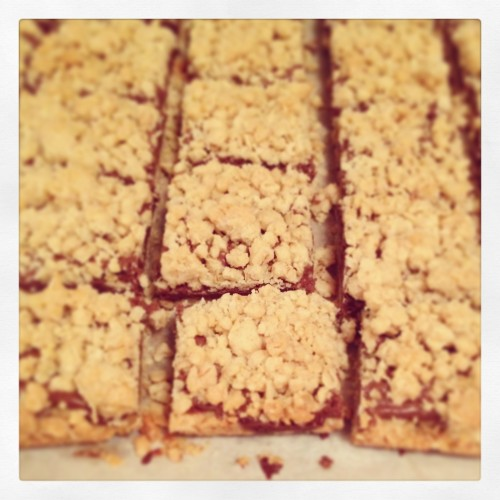 Nutella Crumb Bars   Butter and Sprinkles