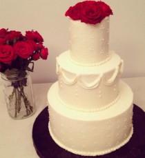 Buttercream Wedding Cake | Butter and Sprinkles