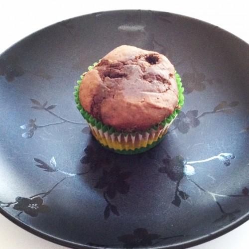 Triple Chocolate Thin Mint Muffins